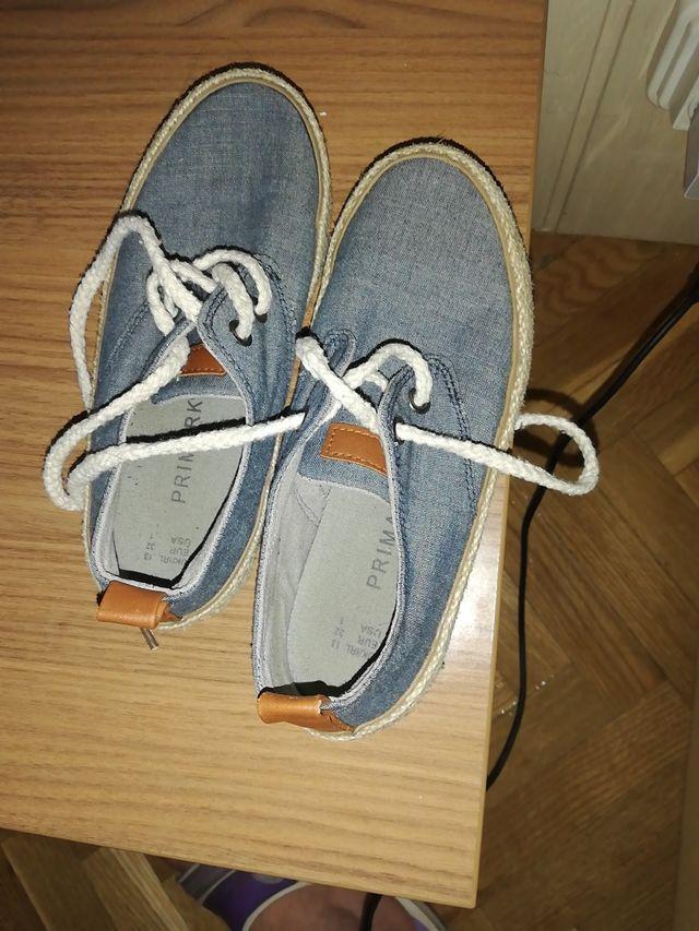 zapatillas tela 32