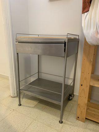 Mesa auxiliar cocina de segunda mano en WALLAPOP