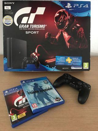 Play PS4 1tb,mando y 2juegos
