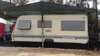 caravana fija en camping Torrenostra (Castellon)