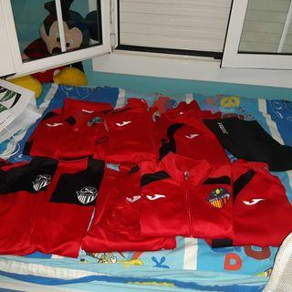 ropa de fútbol del Sant Cugat