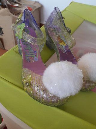 zapatos disfraz campaniilla