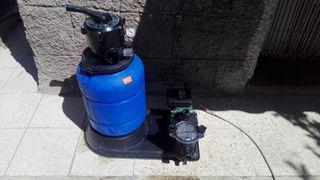 Depuradora de piscina de agua dulce