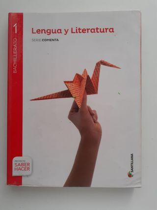 Libro Lengua primero de bach