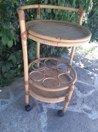 Camarera Bambú Vintage