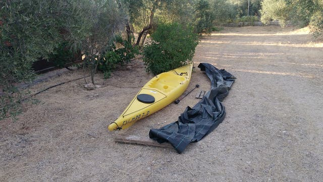 Kayak monoplaza RK - 500 de Decathlon.