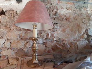 2 Lamparas de mesa vintage