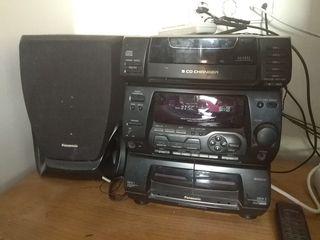cadena Cd/radio/cassette Panasonic