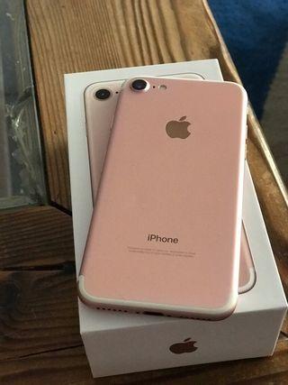 iPhone 7 256gb libre rosa