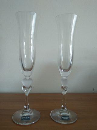 Set dos copas champagne Spiegelau