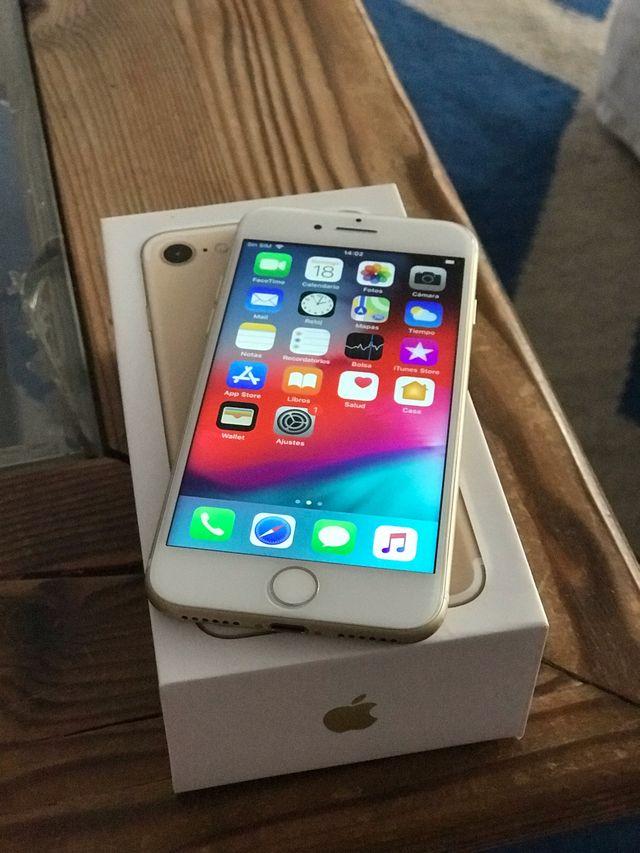 iPhone 7 32gb libre color oro