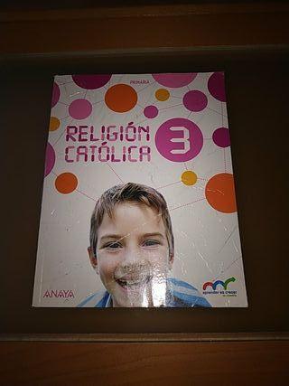libro religión Anaya 3°