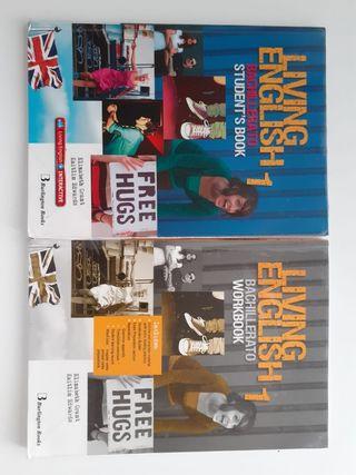 Libros de Inglés Living English 1° Bach