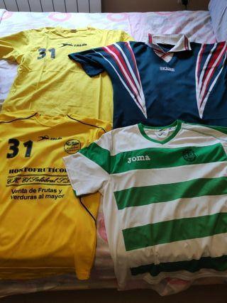 pack camiseta deportivas talla M