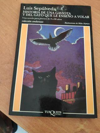 historia de una gaviota y del gato que les enseñó