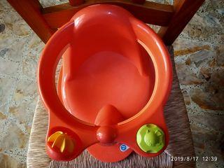 silla para la bañera tal como se ve