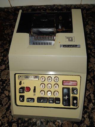 caja registradora antigua olivetti vintage