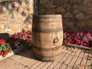 Barril barrica de vino
