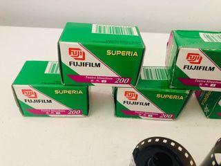 Carretes fotografía Fujifilm