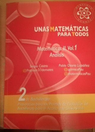 libros de matemáticas 2 bachillerato