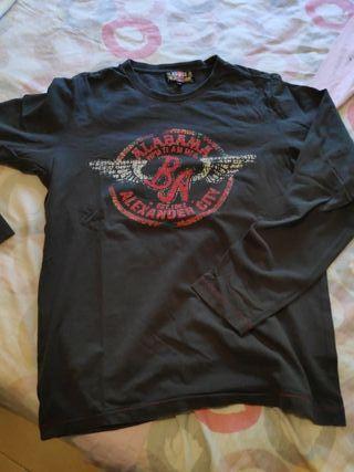 camiseta manga larga talla M