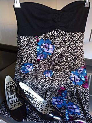 Conjunto vestido + zapatos