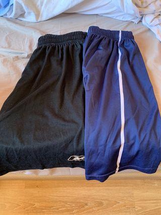 2 pantalones deportivos