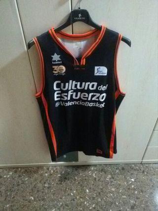 camiseta oficial del valencia basket
