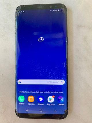 Samsung Galaxy S8 Plus 64 Gb pantalla rota