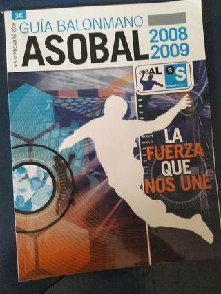 guía asobal balonmano 2008-2009