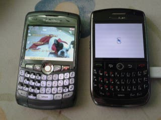 2 TELEFONOS BlackBerry