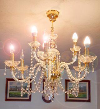 Lámpara Cristal Swarovski ©