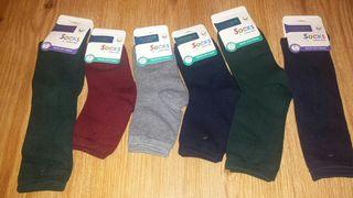 Se venden por cierre de merceria calcetines escola