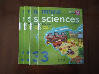 libros natural sciences Oxford tercero primaria