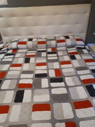 Conjunto colchón + canapé + cabecero