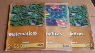 Libros de Matemáticas 1 ESO Oxford