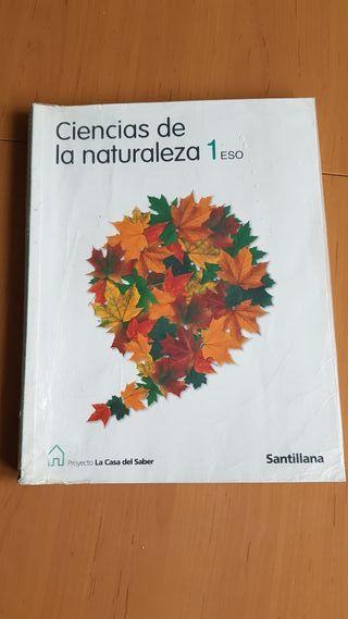 Libro Naturaleza 1 ESO . Santillana