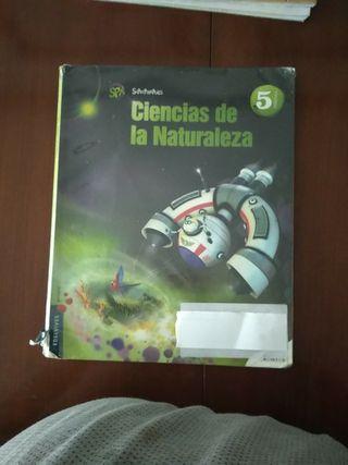 libro ciencias naturaleza superpixepolis 5º