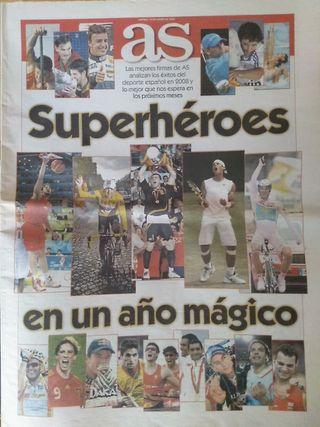 periódico AS especial resumen 2008