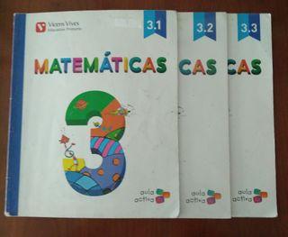 lote libros tercero primaria Vicens vives