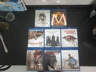 Colección Blu Ray. Juntos o separado.