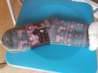 Calcetines de patitas, talla 36-40.
