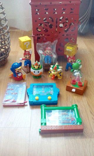 Juguetes Mario Bros