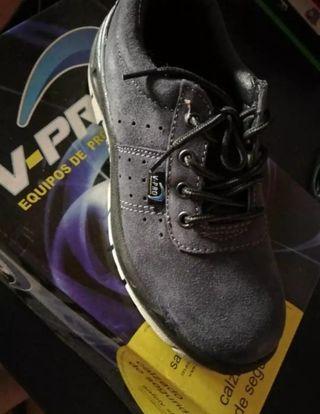 Zapato seguridad n38