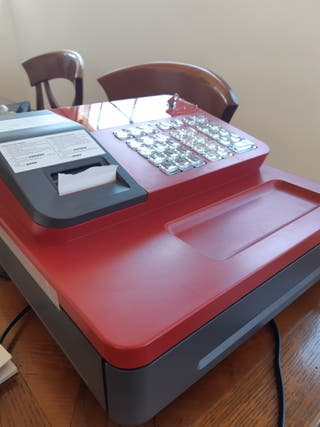 Caja registradora CASIO electronic cash register S