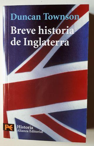 Libro Breve historia de Inglaterra