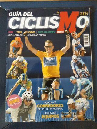 Guía ciclismo Marca 2003
