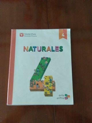 libro naturales 4º primaria Vicens vives