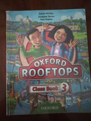 libro Oxford Rooftops clases book 3º primaria