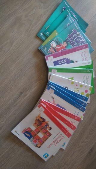 Libros de texto 6° Primaria.